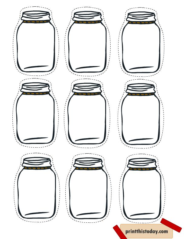 Free Printable Mason Jar Tags for Homemade products                                                                                                                                                     More