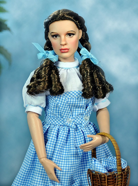 Dorothy - the wizard of oz....this really looks like her! Didn't know this is a Barbie wow