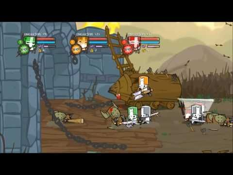 CASTLE CRASHERS GAMEPLAY CO OP #1