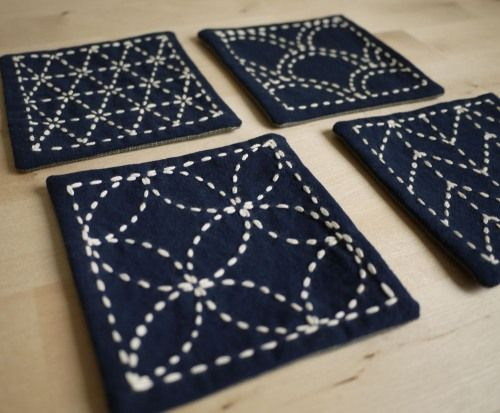 Sashiko tutorial on Gaijin in Japan craft blog
