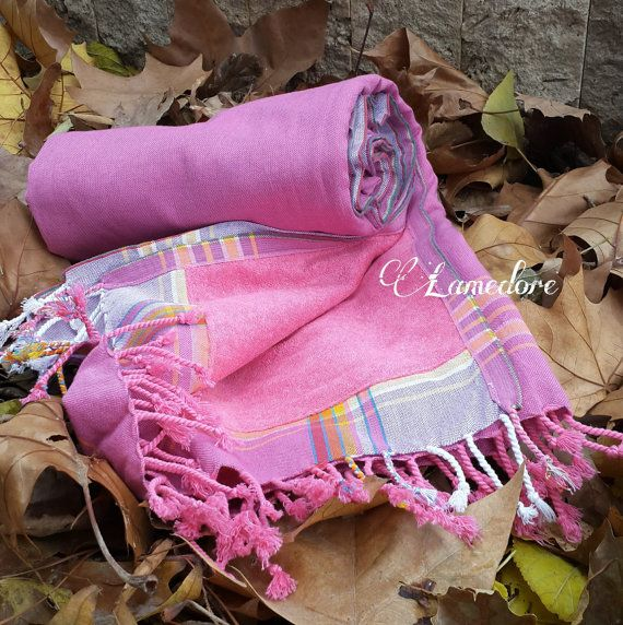 Peshtemal towel Double face Traditional Turkish by LAMEDORE