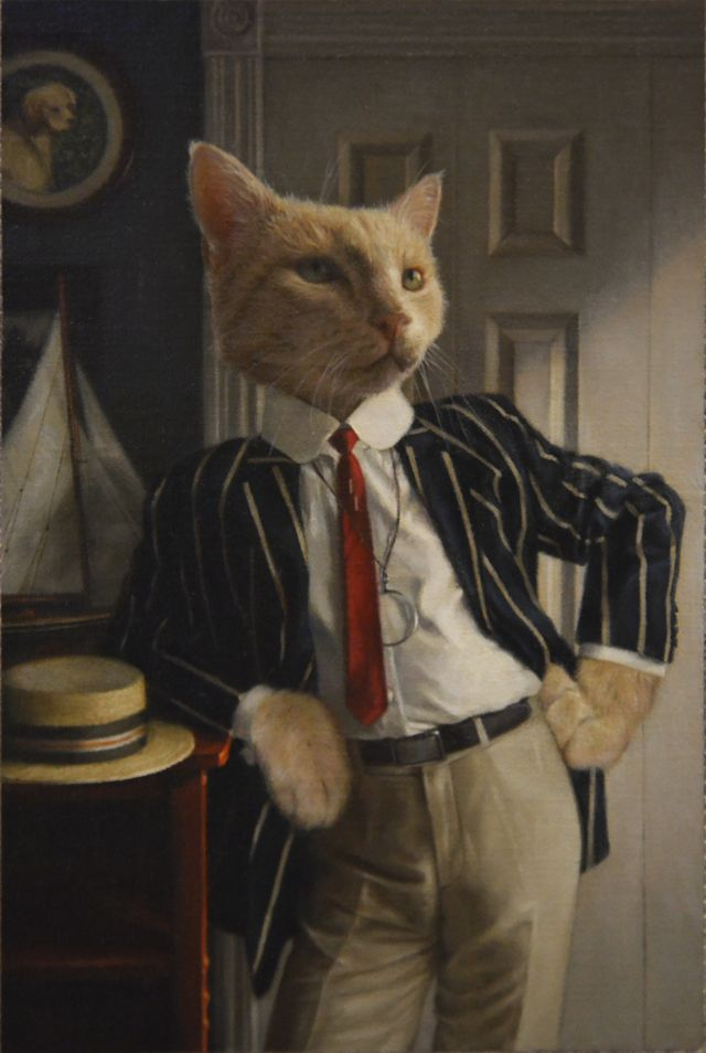 6X9 Mystery Art Sale:  The Great Catsby (Innisart)