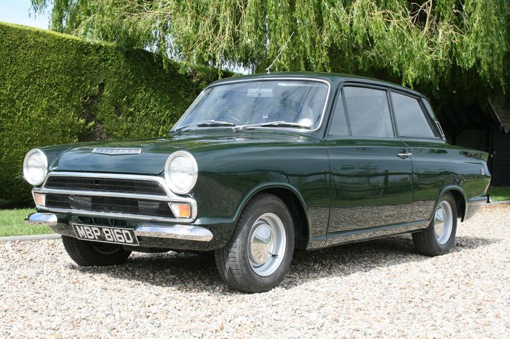 1966 MK1 Ford Cortina GT 2 door. 1 owner for the last 30