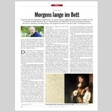 LITERATUR: Morgens lange im Bett - DER SPIEGEL 7/2011
