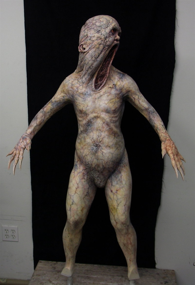 Silent Hill Grey Child. by goblin-bones.deviantart.com (Yep, more creatures from one of my favorite small towns)