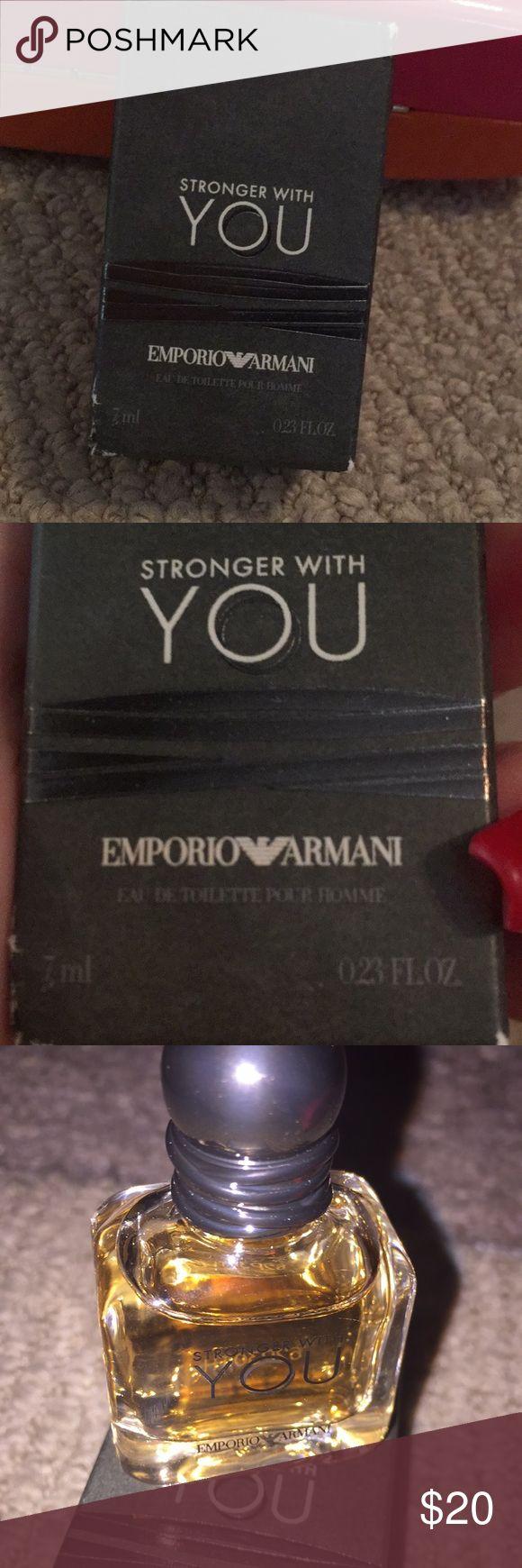Stronger with you eau de toilette pour homme 7ml Stronger with you eau de toilette pour homme Emporio Armani Other