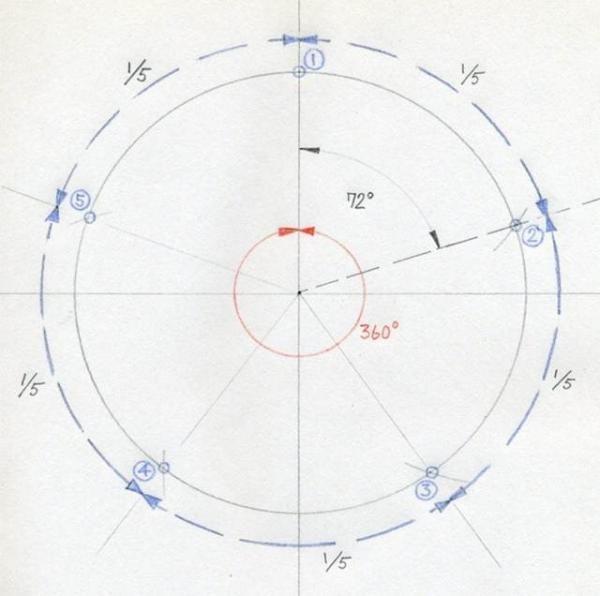 Como Dibujar Una Estrella De 5 Puntas Con Compás Paso 5 Dibujos De Estrellas Plantilla Estrella Libros De Costura