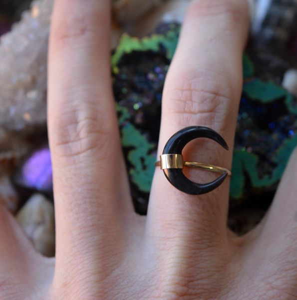 Eclipse Moon Ring
