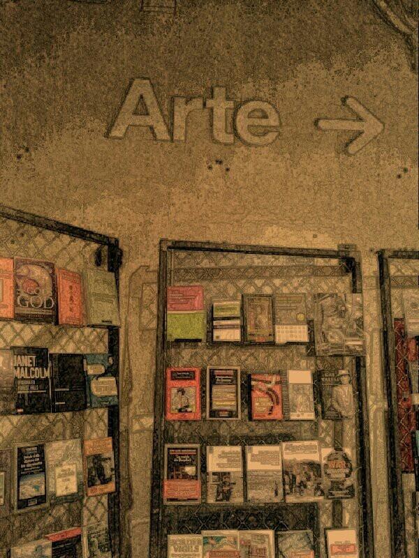 Librería LA CENTRAL. Callao. Madrid.