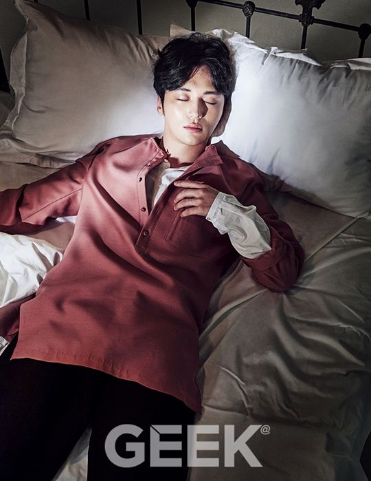 Byun Yo Han - Geek Magazine July Issue '15