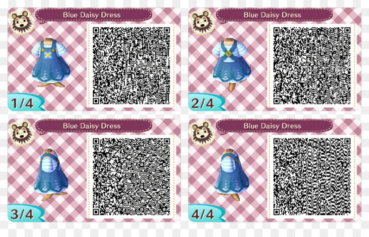 Animal Crossing New Leaf QR code Clothing ultra moon qr