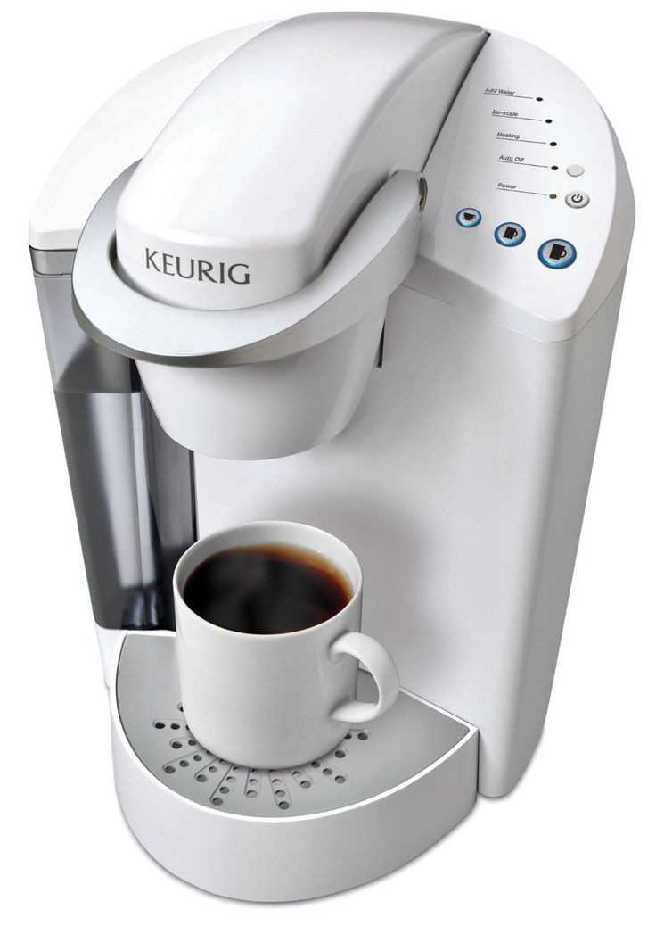 Keurig K55 Single Serve Programmable K Cup Pod Coffee Maker, Coconut White