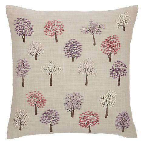 mini trees cushion john lewis trees and cushions. Black Bedroom Furniture Sets. Home Design Ideas