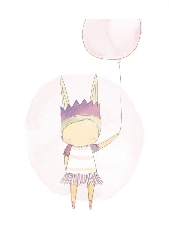 Poster+Ballerina+Baby+Shower+Art+Print++Ballerina+by+honeycup,+$36.00