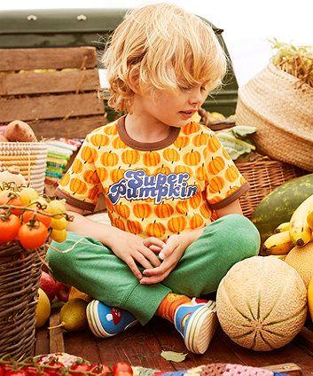 Love this top on Summer🎃🎃🎃🎃 Little Bird by Jools Super Pumpkin T-Shirt