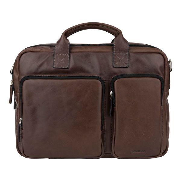 Leather bag for #men from #Strellson