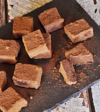 Bergamot Ganache Truffles
