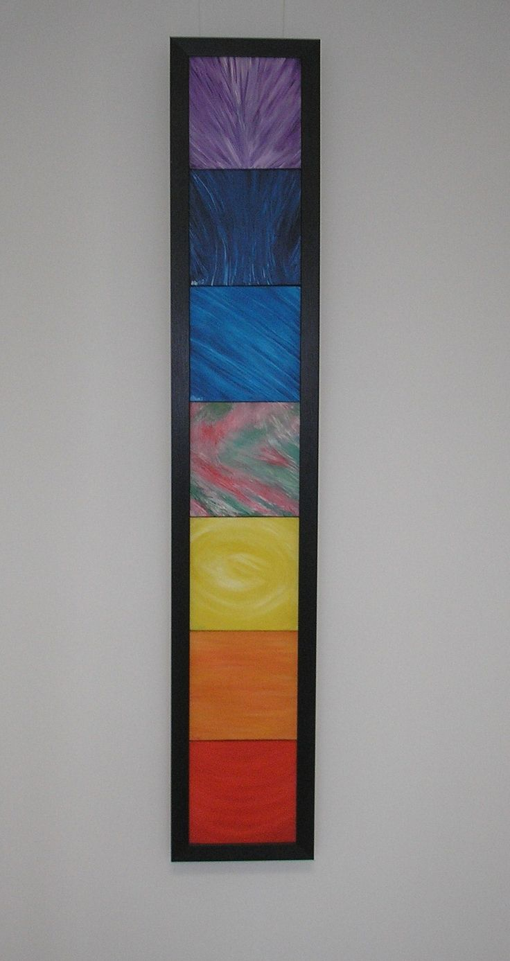 Balance through chakra colour and energy