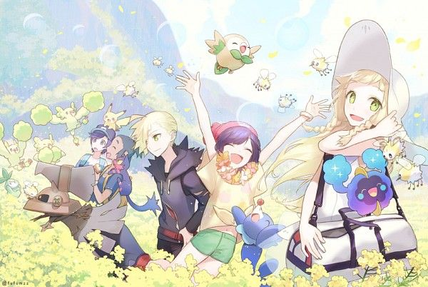 Gladion...he is the best. Pokémon Sun and Moon is my favorite game