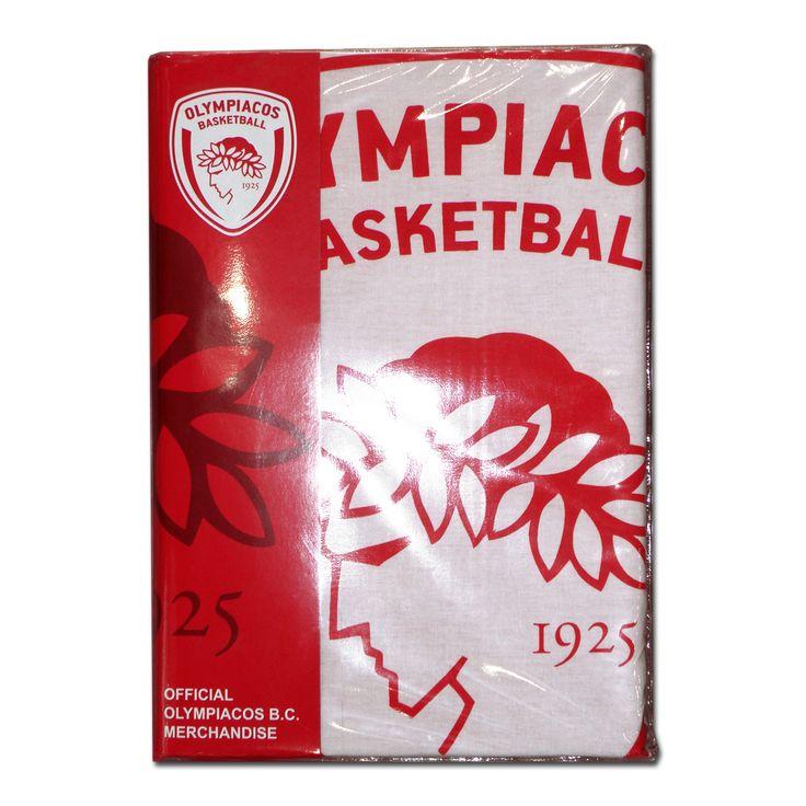 Σετ σεντονιών Olympiacos BC μονό 170x260 (3τμχ)