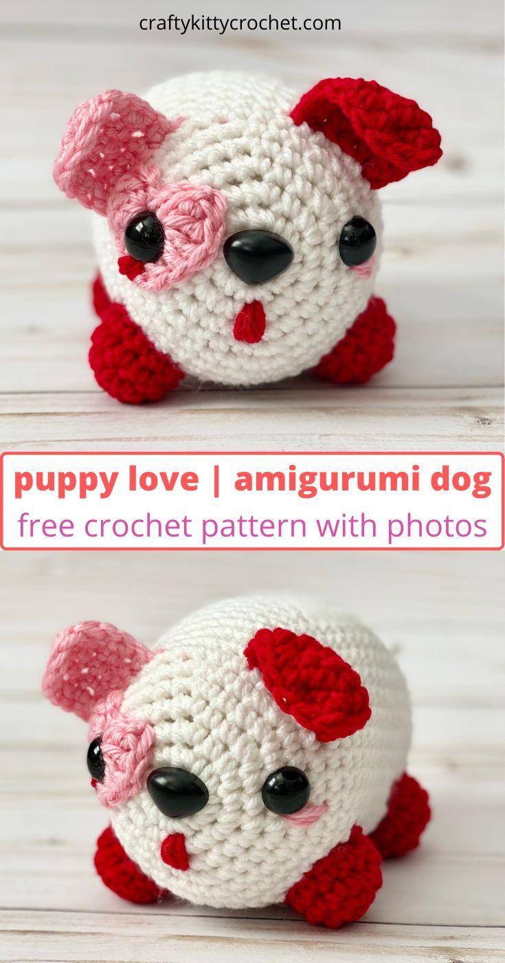 Free Amigurumi Dog Crochet Patterns | Crochet dog, Crochet patterns | 1400x735