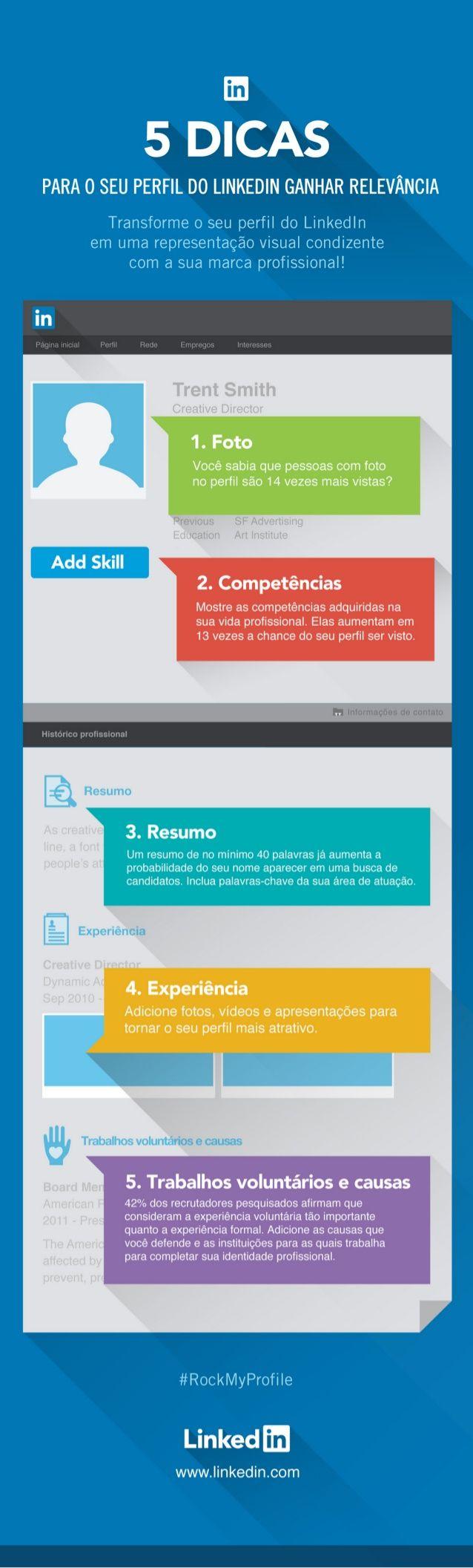 5 Dicas para o seu Perfil do LinkedIn Ganhar Relevância