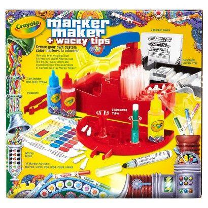 Crayola Marker Maker with Wacky Tips | @giftryapp