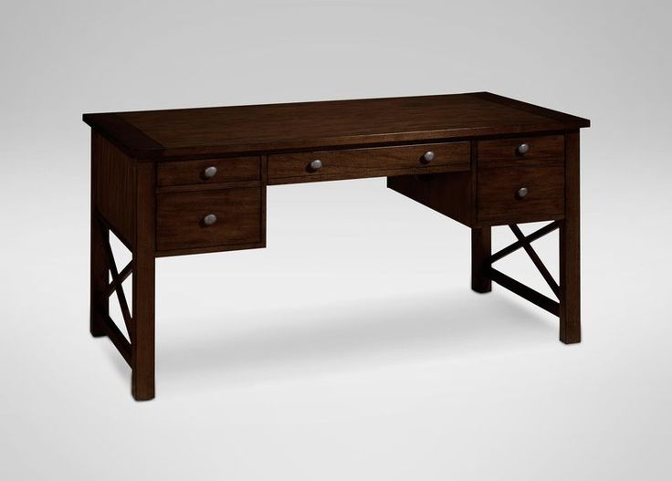 Shop Ethan Allenu0027s Selection Of Home Office Desks Including Leather Top  Desks And Pedestal Desks.