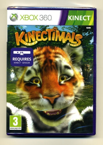 KINECTIMALS XBox 360 KINECT Game Playing with Animals New & Sealed PAL & NTSC
