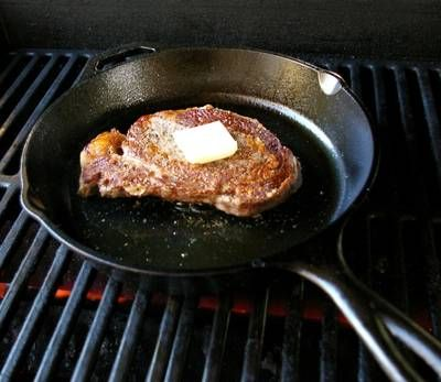 The Perfect Restaurant Steak: this formula never lets me down! Great instructions for a great cast iron cooked steak.