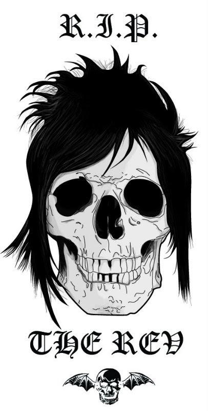 """Ilustração feita por mim em homenagem ao ex-baterista da banda A7X, James """"The Rev"""" Sullivan."""