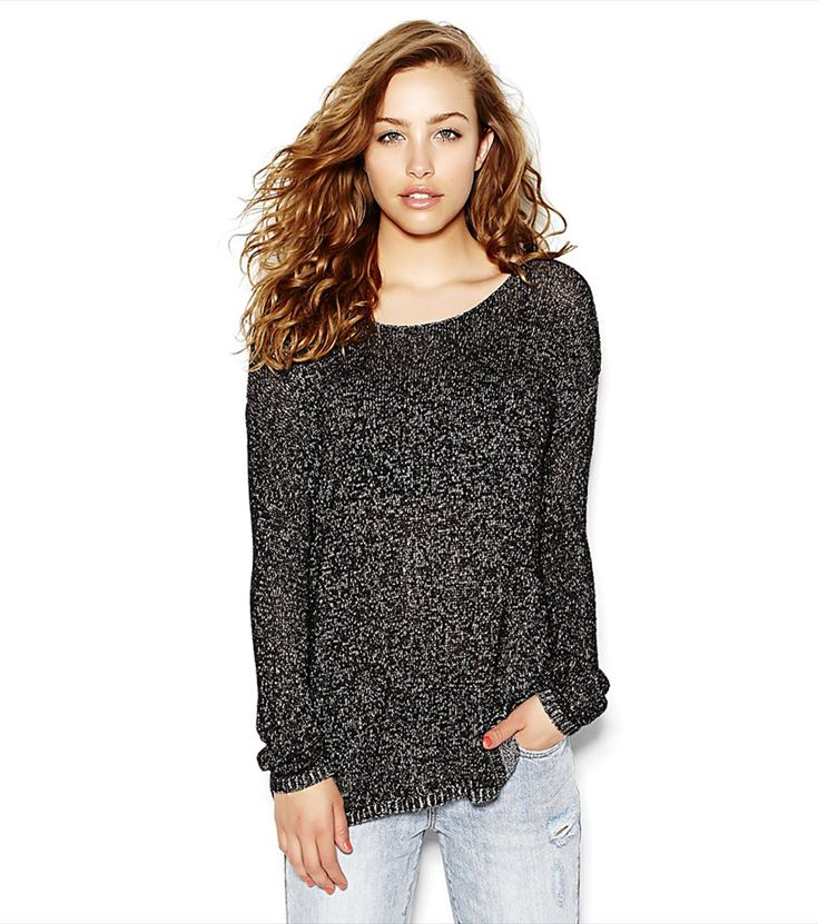 Slouchy Sweater.