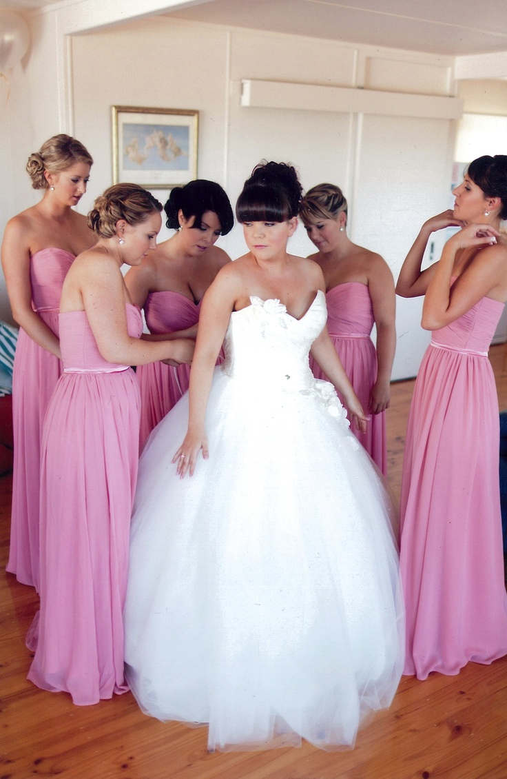 48 best our real brides bridesmaids images on pinterest nicolas bridesmaids wore chloe dresses in coral httpnatashamillani ombrellifo Image collections