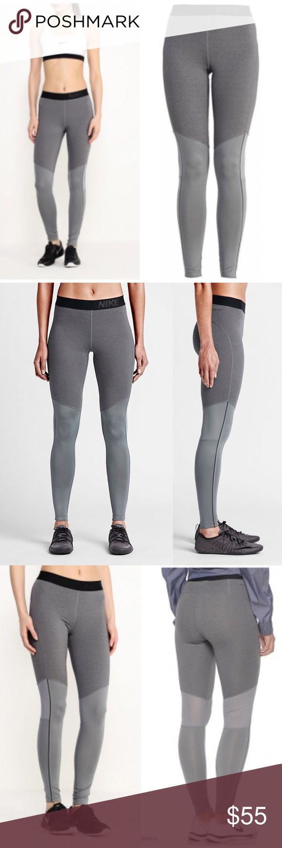 Nike Pro Hyperwarm Max Leggings Designed with Dri-FIT provide warmth & ventilation when working out in colder conditions. Dri-FIT fabric helps keep you dry and comfortable, Mix of French terry & jersey fabrics for a soft feel & enhanced warmth, Stretch mesh panels at back knees for breathability & natural range of motion, Fitted design for easy layering and mobility, Stretch waistband offers a secure, comfortable fit, Flat seams.Dri-FIT 88% polyester 12% elastane. Nike Pants Leggings