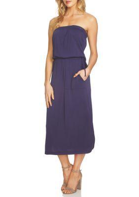 1. State Women's Strapless Maxi Dress - Evening Sky - Xs