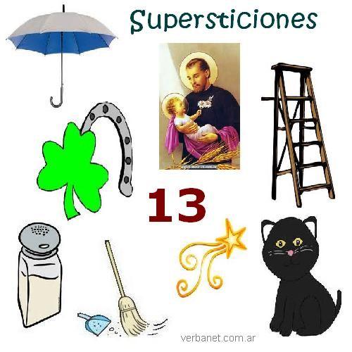 Supersticiones lectura y vocabulario en - Cosas para atraer la buena suerte ...