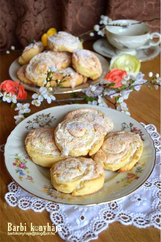 Kókuszhabos csiga - Barbi konyhája