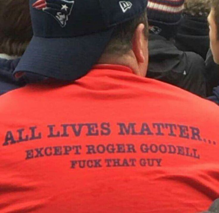 The shirt says it all!