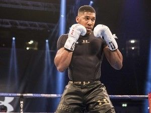 "Anthony Joshua ready to face ""master tactician"" Wladimir Klitschko"