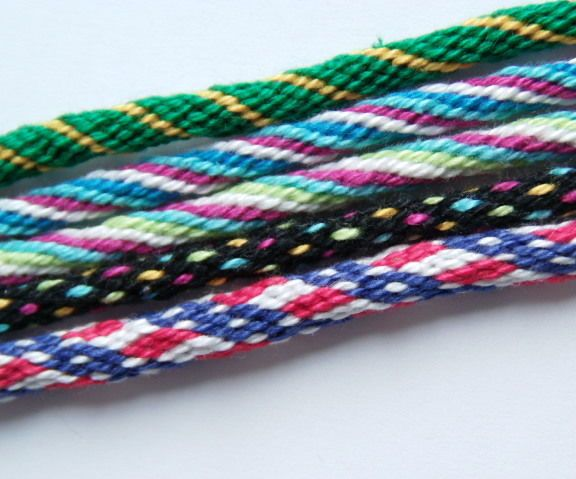 I recently bought a large pack of embroidery thread intending to make some of those normal knotted friendship bracelets. Instead I learned how to make these braided ones and they ...