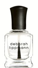 I love my nail polish, and Deborah Lippmann Hard Rock Top Coat is a must have for keeping my polish chip and crack free through all of my baking, cooking, and typing.  Nail polish is so much more fun with this product in my life.