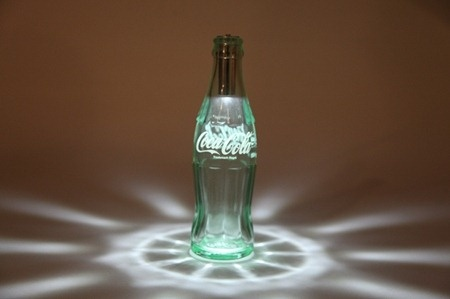 LED Light in Coca-Cola bottle: Wish I could find this in Canada or the US