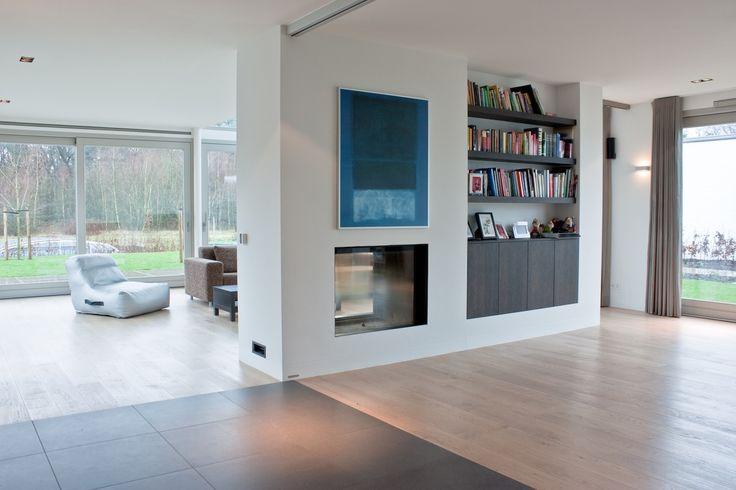 Vloeren project gerealiseerd in tilburg nieuwbouw villa te tilburg pinterest foto 39 s met - Foto grijze keuken en hout ...