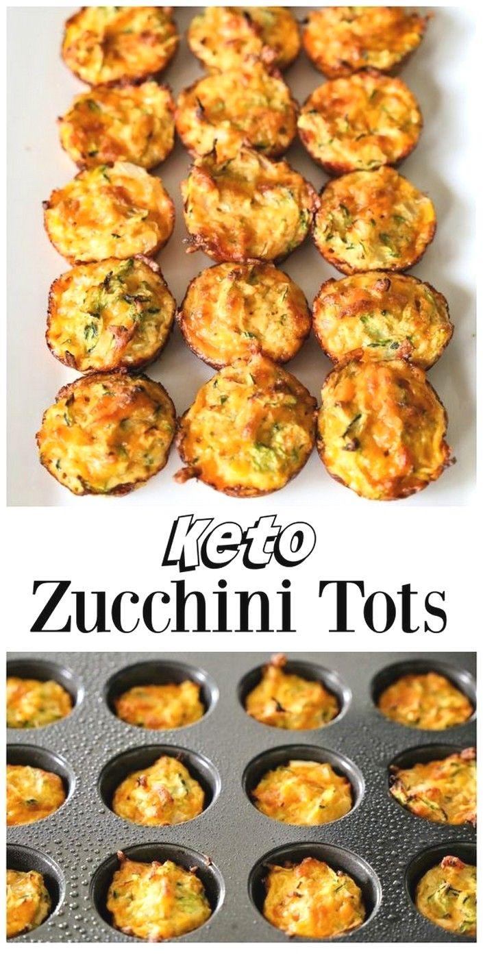 Zucchini Tots | Keto Recipes