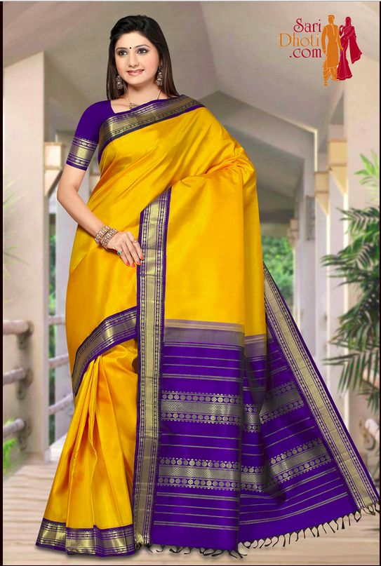 Kanchipuram Sarees Designed And Made According To A Womans