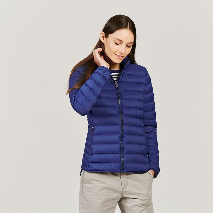 ultra-light compactible thermo kit® down jacket klein lillydown woman - aigle 1