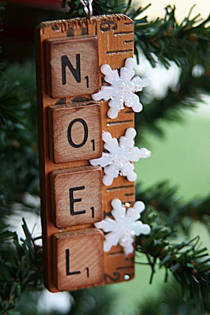 yardstick ornaments