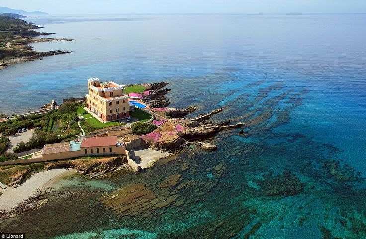 For truly unbelievable Mediterranean sea views, this luxury villa in Sardinia is the a dre...