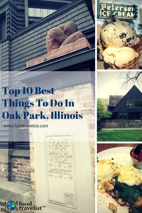 Whether you live in the Chicago or are visiting Illinois from somewhere else, Oak Park is a quaint town just west of Chicago once home to Ernest Hemingway and Frank Lloyd Wright that offers a bounty of food, culture, shopping and more worthy of a visit.