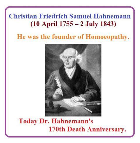 samuel hahnemann and the science of homeopathy Homoeopathic training following dr samuel hahnemann and the 'old masters' philosophy, solid understanding for homoeopathic scientific principles and clinical .
